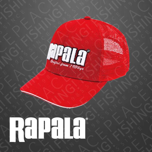 라팔라 매쉬캡 레드 (낚시모자)